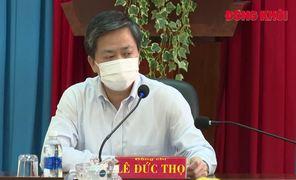 Bí thư Tỉnh ủy Lê Đức Thọ kiểm tra công tác phòng dịch Covid-19