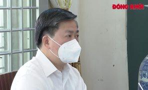 Ban Thường vụ Tỉnh ủy trao Huy hiệu Đảng tại TP. Bến Tre và Châu Thành