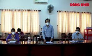 Kiểm tra cơ sở cách ly tập trung tại huyện Châu Thành