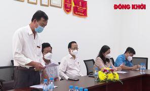 Ban Chỉ đạo 129 của Tỉnh ủy thăm, làm việc với các doanh nghiệp khu công nghiệp
