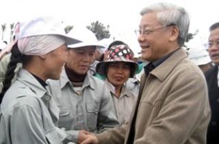 Tổng Bí thư, Chủ tịch Quốc hội Nguyễn Phú Trọng tham gia Tết trồng cây