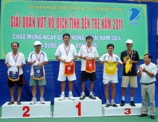 Kết quả giải quần vợt vô địch tỉnh Bến Tre năm 2011