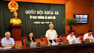 UBTVQH cho ý kiến về chương trình xây dựng luật, pháp lệnh