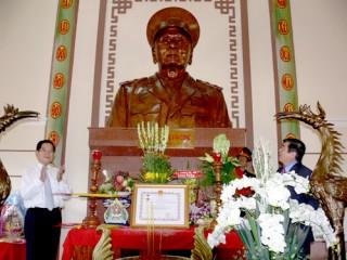 Truy tặng danh hiệu Anh hùng Lực lượng vũ trang nhân dân cho cố Trung tướng Đồng Văn Cống