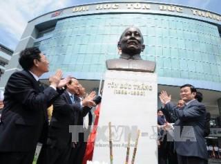 Kỷ niệm 123 năm Ngày sinh cố Chủ tịch Tôn Đức Thắng