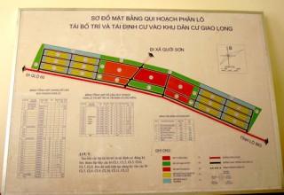 Khẩn trương giải phóng mặt bằng Dự án hai công trình quanh Khu công nghiệp Giao Long