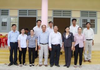 Trường Mẫu giáo Thới Thuận được đưa vào sử dụng