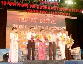 Sáng mãi Đường Hồ Chí Minh trên biển với Đoàn tàu không số huyền thoại