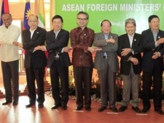 Kết thúc Hội nghị hẹp Bộ trưởng Ngoại giao ASEAN