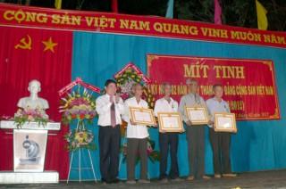 Mít-tinh trọng thể kỷ niệm 82 năm Ngày thành lập Đảng Cộng sản Việt Nam