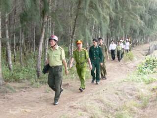 Kiểm tra công tác phòng, chống cháy rừng mùa khô