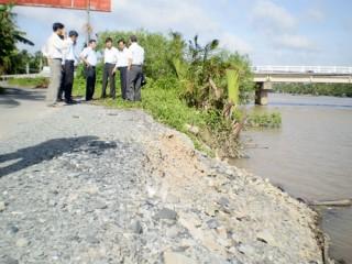 Cần nghiên cứu kỹ quy hoạch thủy lợi chung để khai thác hai huyện Mỏ Cày Nam và Thạnh Phú