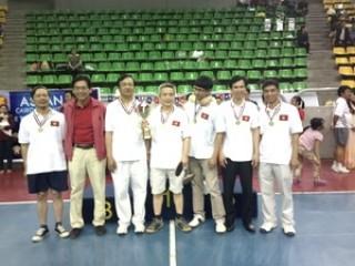 Việt Nam vô địch Giải Bóng bàn hữu nghị các nước ASEAN tại Ai Cập