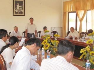 Hội đồng nhân dân tỉnh giám sát công tác giải quyết khiếu nại của công dân  tại huyện Ba Tri