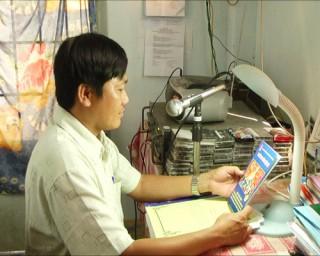 Trưởng Đài truyền thanh xã tâm huyết với nghề