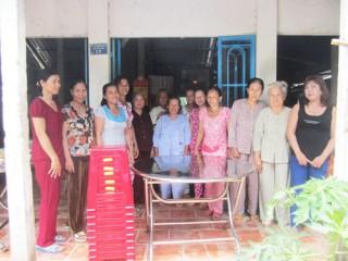 Phú Túc: Tổ phụ nữ giúp nhau trang trí nội thất hoạt động tốt