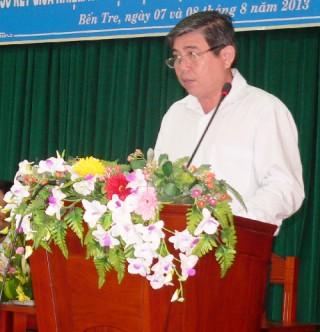 Hội nghị sơ kết giữa nhiệm kỳ thực hiện Nghị quyết Đại hội Đảng bộ tỉnh lần thứ IX