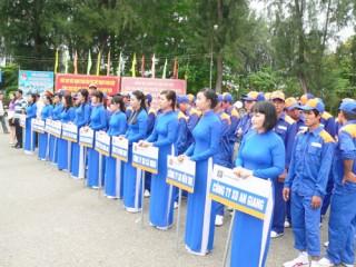 Hội thao công nhân viên chức, lao động Petrolimex cụm Tây Nam Bộ 2013