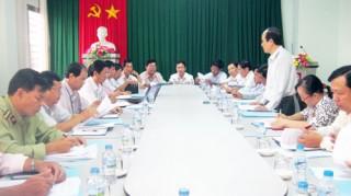 Ban Kinh tế và Ngân sách HĐND tỉnh giám sát Sở Công Thương