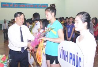Diễn ra vòng chung kết giải Bóng chuyền hạng A toàn quốc năm 2013