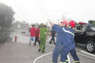 Thực tập và tập huấn về phòng cháy, chữa cháy