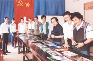 Kết quả thi ảnh nghệ thuật ở huyện Thạnh Phú