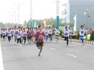 265 vận động viên tham gia Giải Việt dã TP. Bến Tre năm 2014