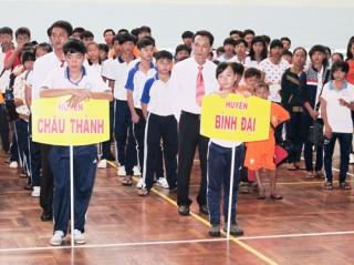 650 vận động viên tham gia Hội thao học sinh hè năm 2014