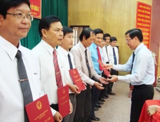 Học viên lớp nguồn cán bộ Tỉnh ủy khóa I đạt kết quả học tập xuất sắc và giỏi