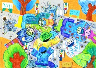 Bến Tre đoạt 9 giải thưởng thi vẽ tranh thiếu nhi