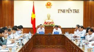 Bộ Tài nguyên - Môi trường kiểm tra công tác quản lý đất đai tại Bến Tre