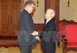 Tổng Bí thư Nguyễn Phú Trọng tiếp Đại sứ đặc mệnh toàn quyền Liên bang Nga