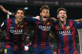 Barcelona tưng bừng thắng Atletico Madrid