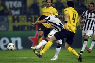 Đè bẹp Dortmund 3-0, Juventus thẳng tiến vào tứ kết