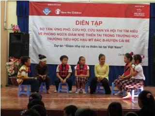 Triển khai dự án giảm nhẹ rủi ro thiên tai tại Việt Nam