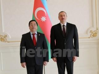 Việt Nam-Azerbaijan không ngừng tăng cường quan hệ song phương