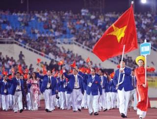 Lễ xuất quân đoàn Thể thao Việt Nam tham dự SEA Games 28 diễn ra ngày 19-5