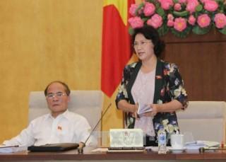 Ủy ban Thường vụ Quốc hội cho ý kiến về quyết toán ngân sách nhà nước năm 2013