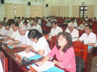 Đóng góp dự thảo Văn kiện Đại hội đại biểu Đảng bộ tỉnh khóa X