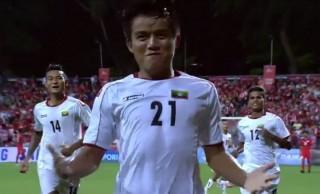 Thua sốc U23 Myanmar, U23 Singapore đối mặt nguy cơ bị loại