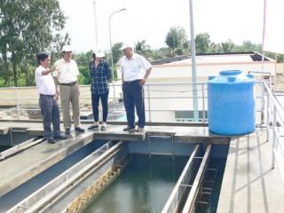 Đưa vào sử dụng công trình nâng cấp, mở rộng nhà máy nước Thạnh Phú