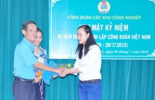 Tổ chức kỷ niệm 86 năm Ngày thành lập Công đoàn Việt Nam
