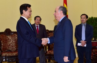 Thủ tướng Nguyễn Tấn Dũng tiếp Bộ trưởng Ngoại giao Brazil