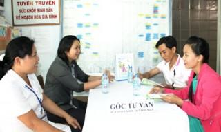 Châu Hòa - điểm sáng trong công tác tư vấn khám sức khỏe tiền hôn nhân