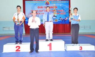 Đơn vị Tân Phú đoạt giải Nhất toàn đoàn