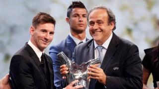 Messi đoạt Cầu thủ xuất sắc nhất châu Âu 2014-2015