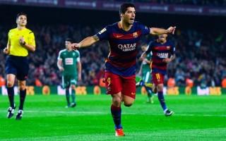 Suarez lập hat-trick, Barca thắng đẹp Eibar