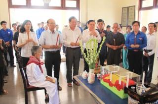 Hài cốt liệt sĩ Lê Trung Kiên được về với đất mẹ