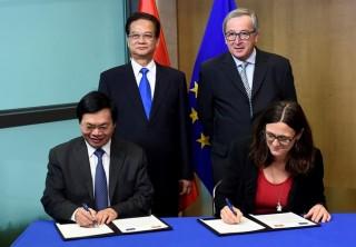 Đàm phán Hiệp định thương mại tự do Việt Nam-EU chính thức kết thúc