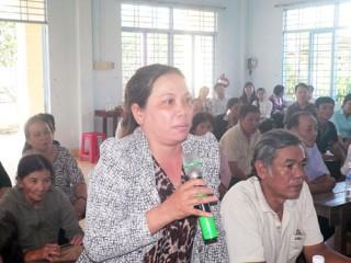 Đại biểu Quốc hội tiếp xúc cử tri TP. Bến Tre và huyện Châu Thành
